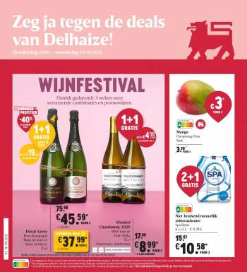 Catalogue Delhaize - 25.2.2021 - 3.3.2021.