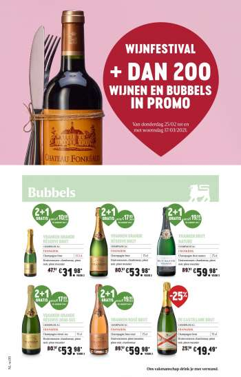 Catalogue Delhaize - 25.2.2021 - 17.3.2021.