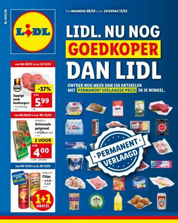 Catalogue Lidl - 8.3.2021 - 13.3.2021.
