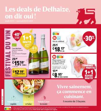 Catalogue Delhaize - 4.3.2021 - 10.3.2021.