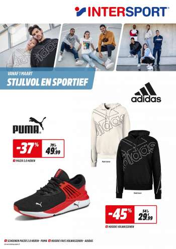 Intersport-aanbieding - 1.3.2021 - 13.3.2021.