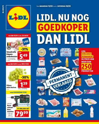 Catalogue Lidl - 15.3.2021 - 20.3.2021.
