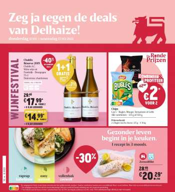 Catalogue Delhaize - 11.3.2021 - 17.3.2021.