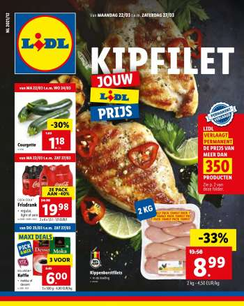 Catalogue Lidl - 22.3.2021 - 27.3.2021.