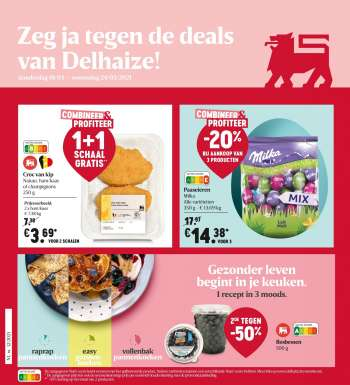 Catalogue Delhaize - 18.3.2021 - 24.3.2021.