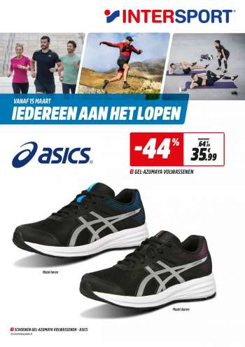 Intersport-aanbieding - 15.3.2021 - 27.3.2021.