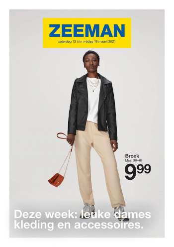 Catalogue Zeeman - 13.3.2021 - 19.3.2021.