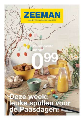 Catalogue Zeeman - 20.3.2021 - 26.3.2021.
