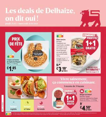 Catalogue Delhaize - 25.3.2021 - 31.3.2021.