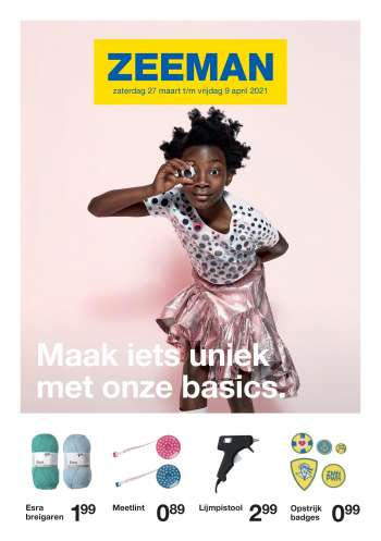 Catalogue Zeeman - 27.3.2021 - 9.4.2021.