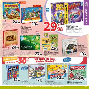 Catalogue Maxi Toys - 22.3.2021 - 9.5.2021.