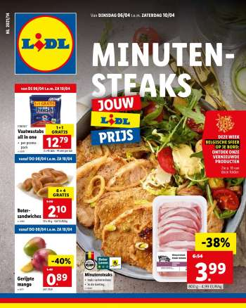 Catalogue Lidl - 6.4.2021 - 10.4.2021.