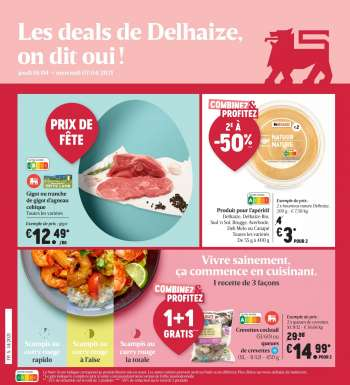 Catalogue Delhaize - 1.4.2021 - 7.4.2021.