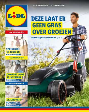 Catalogue Lidl - 7.4.2021 - 10.4.2021.