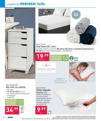 Catalogue ALDI - 12.4.2021 - 17.4.2021.