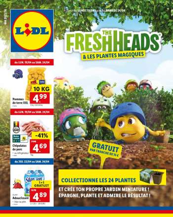 Catalogue Lidl - 19.4.2021 - 24.4.2021.