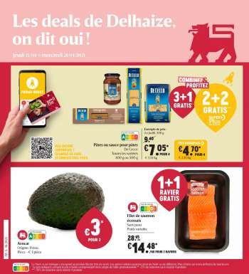 Catalogue Delhaize - 15.4.2021 - 21.4.2021.