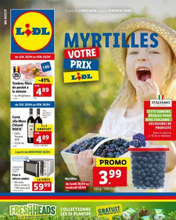 Catalogue Lidl - 26.4.2021 - 30.4.2021.