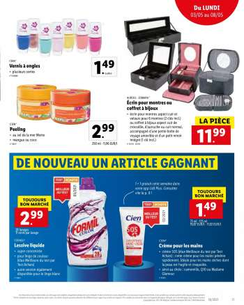 Catalogue Lidl - 3.5.2021 - 8.5.2021.
