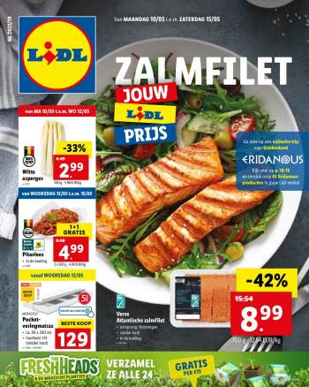 Catalogue Lidl - 10.5.2021 - 15.5.2021.