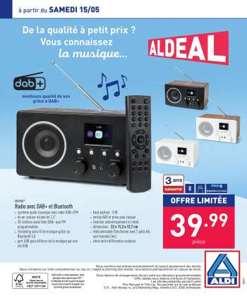 Catalogue ALDI - 10.5.2021 - 21.5.2021.