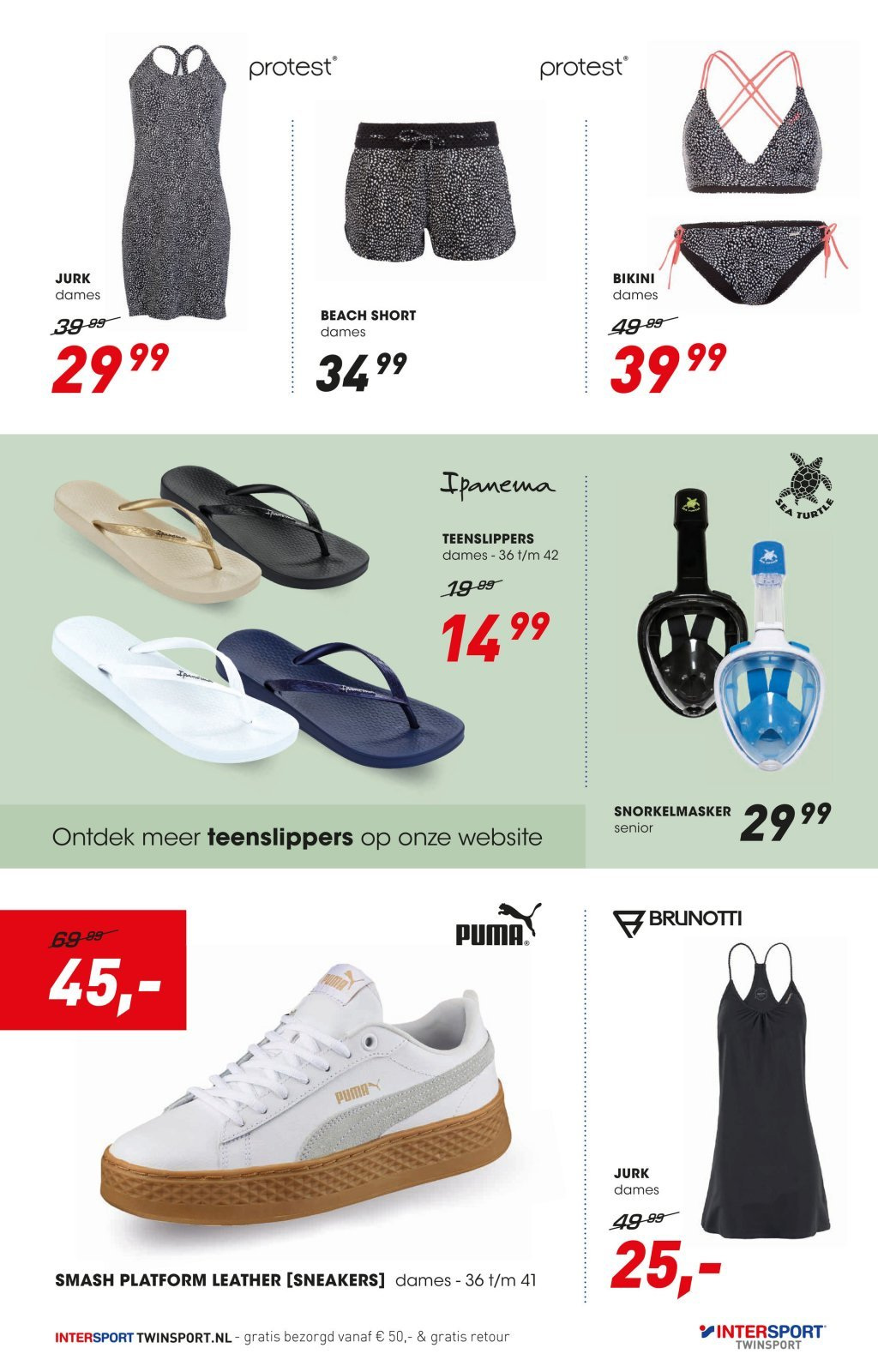 Intersport-aanbieding - 22.6.2018 - 8.7.2018. Pagina 3.