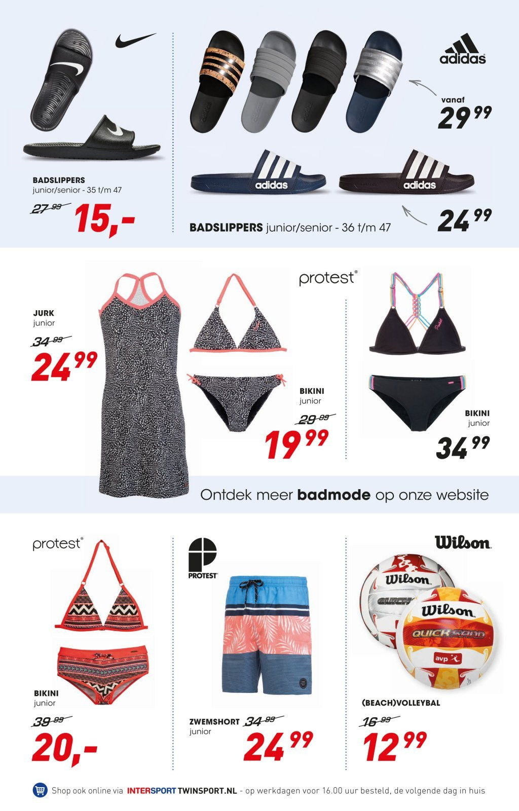 Intersport-aanbieding - 22.6.2018 - 8.7.2018. Pagina 6.