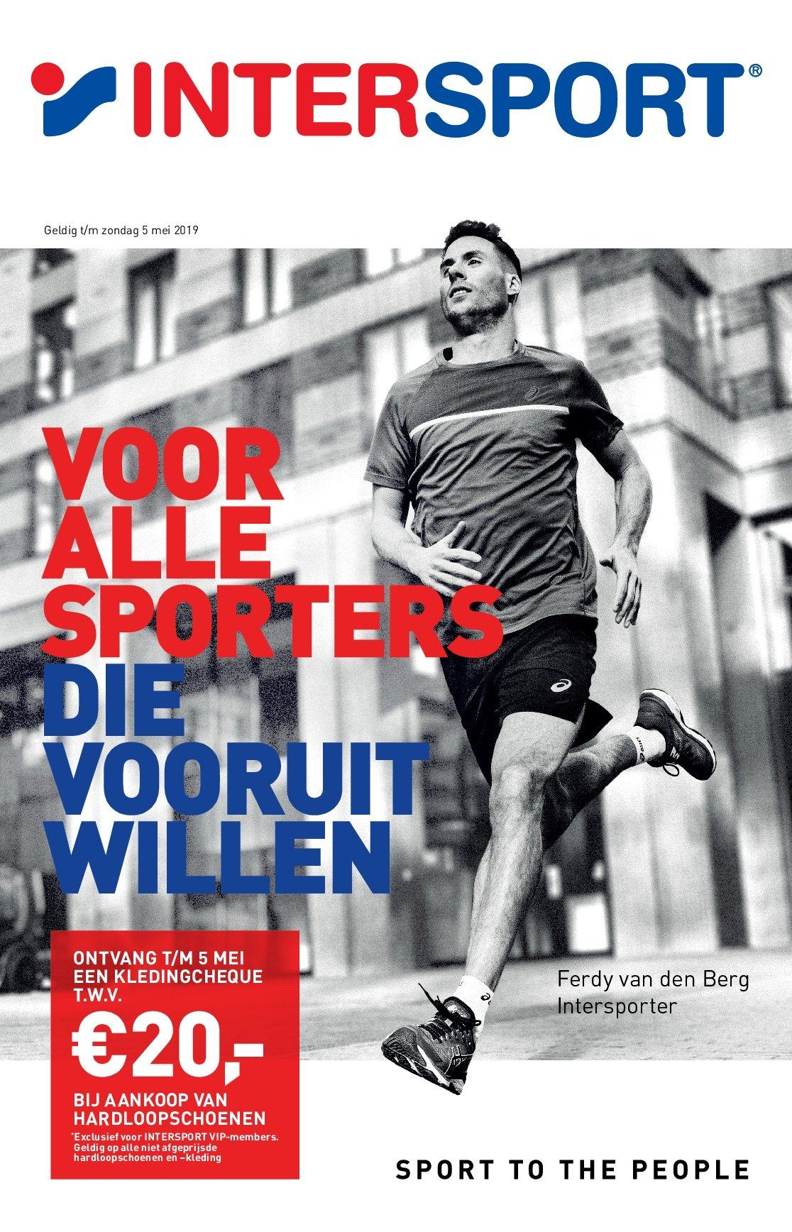 Intersport-aanbieding - 21.4.2019 - 5.5.2019. Pagina 1.
