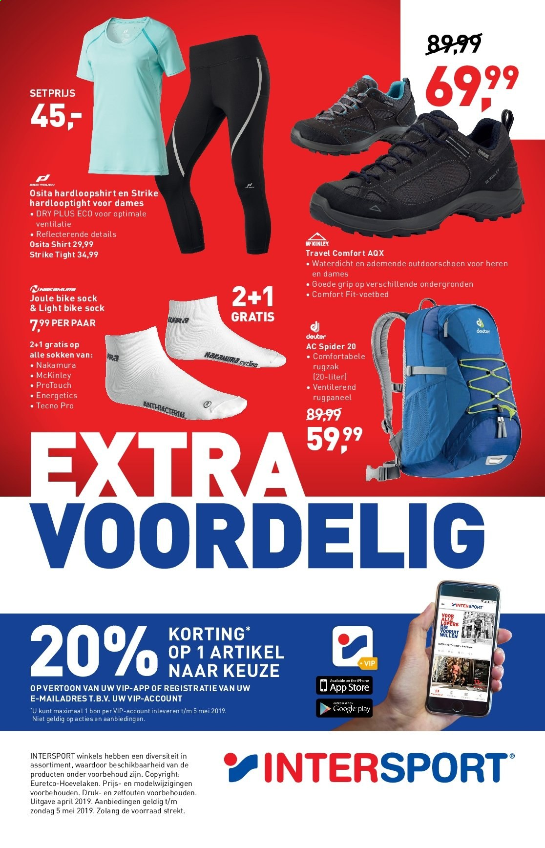Intersport-aanbieding - 21.4.2019 - 5.5.2019. Pagina 7.