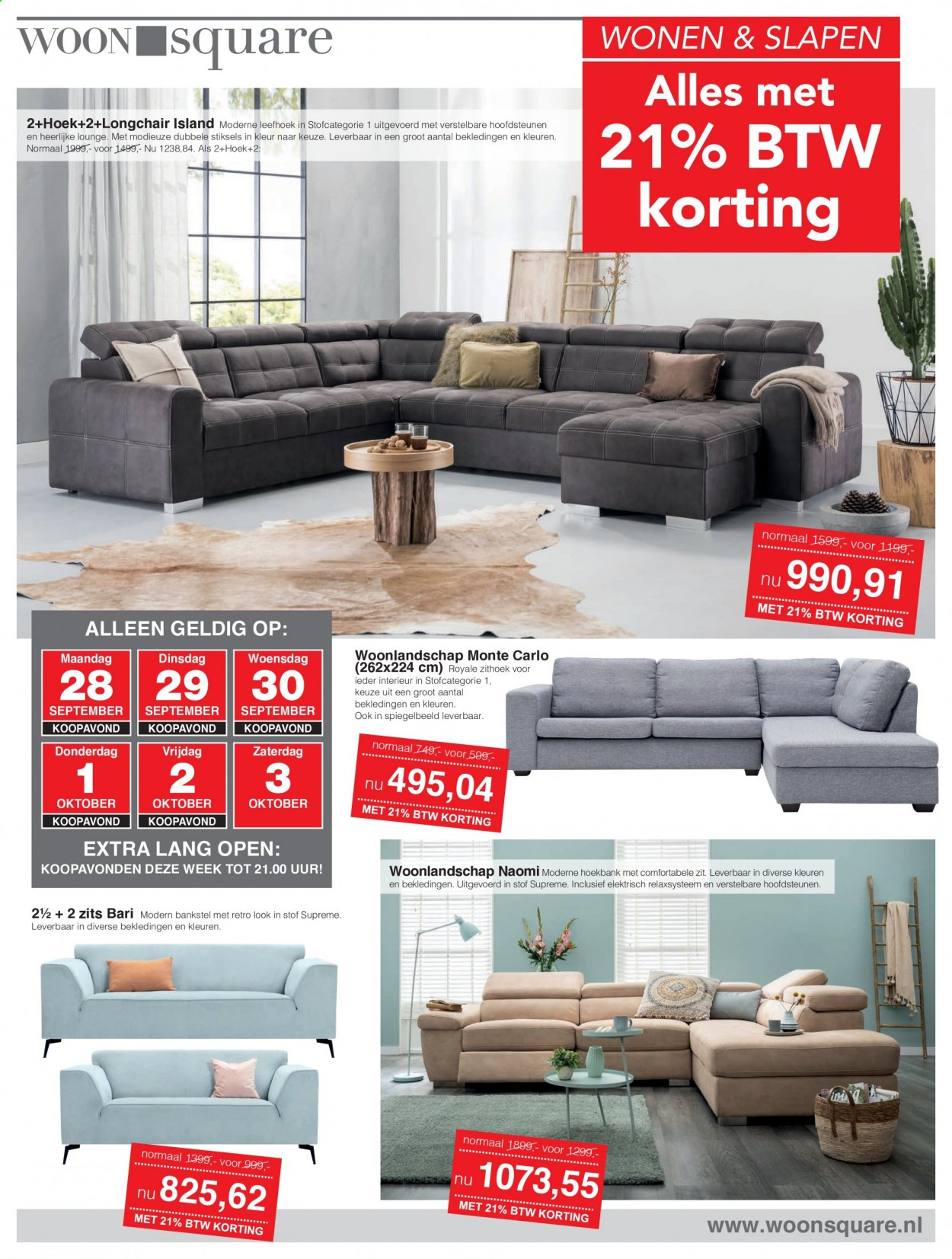 Woonsquare-aanbieding - 28.9.2020 - 3.10.2020. Pagina 1.