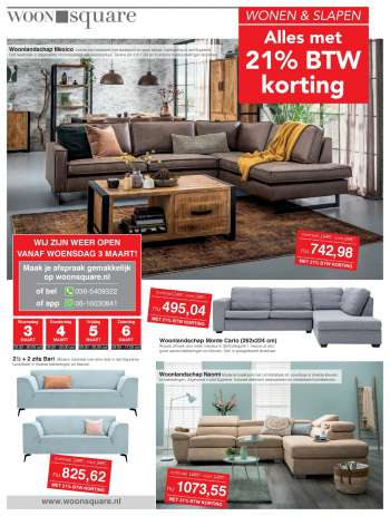 Woonsquare-aanbieding - 3.3.2021 - 6.3.2021.