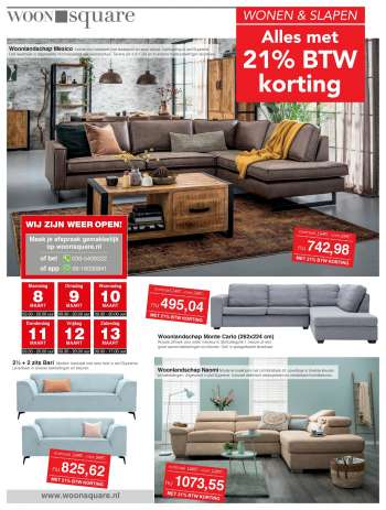 Woonsquare-aanbieding - 8.3.2021 - 13.3.2021.