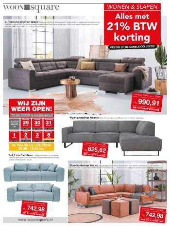 Woonsquare-aanbieding - 29.3.2021 - 5.4.2021.