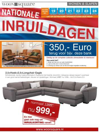 Woonsquare-aanbieding - 19.4.2021 - 24.4.2021.
