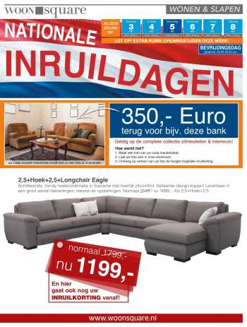 Woonsquare-aanbieding - 3.5.2021 - 8.5.2021.