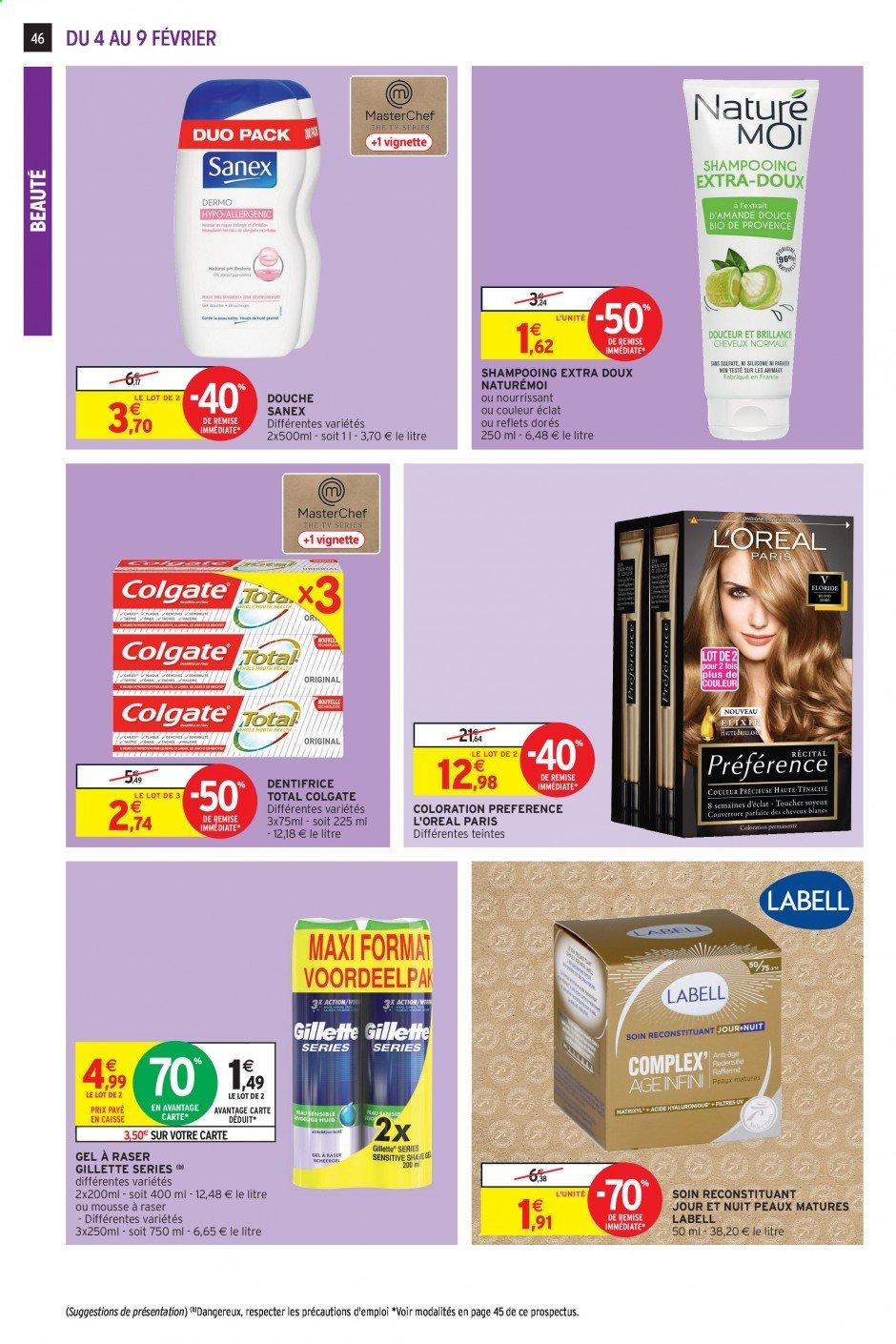 Catalogue Intermarché - 04.02.2020 - 09.02.2020. Page 42.