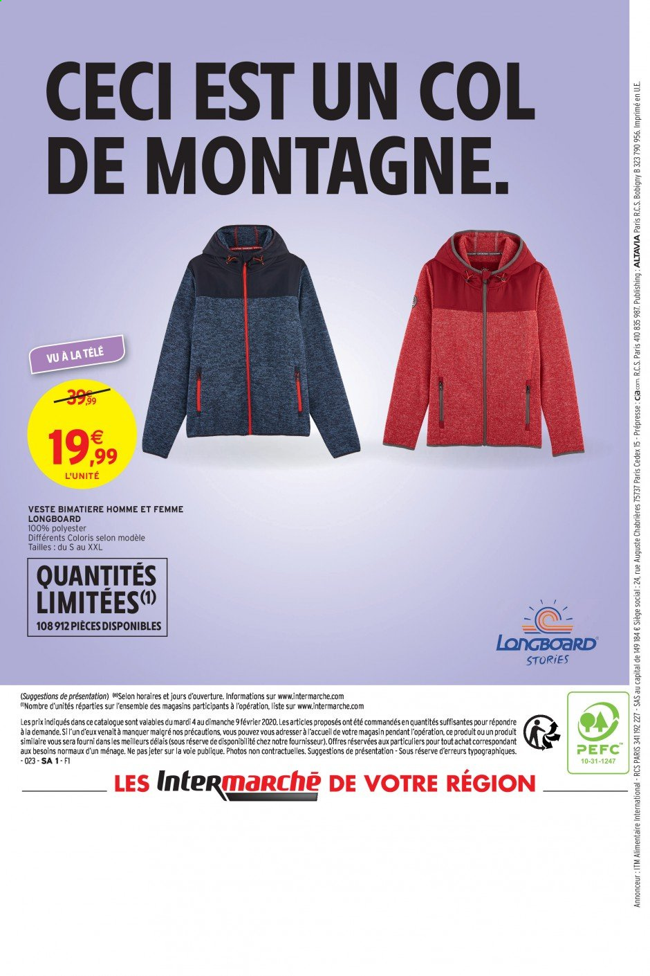 Catalogue Intermarché - 04.02.2020 - 09.02.2020. Page 48.