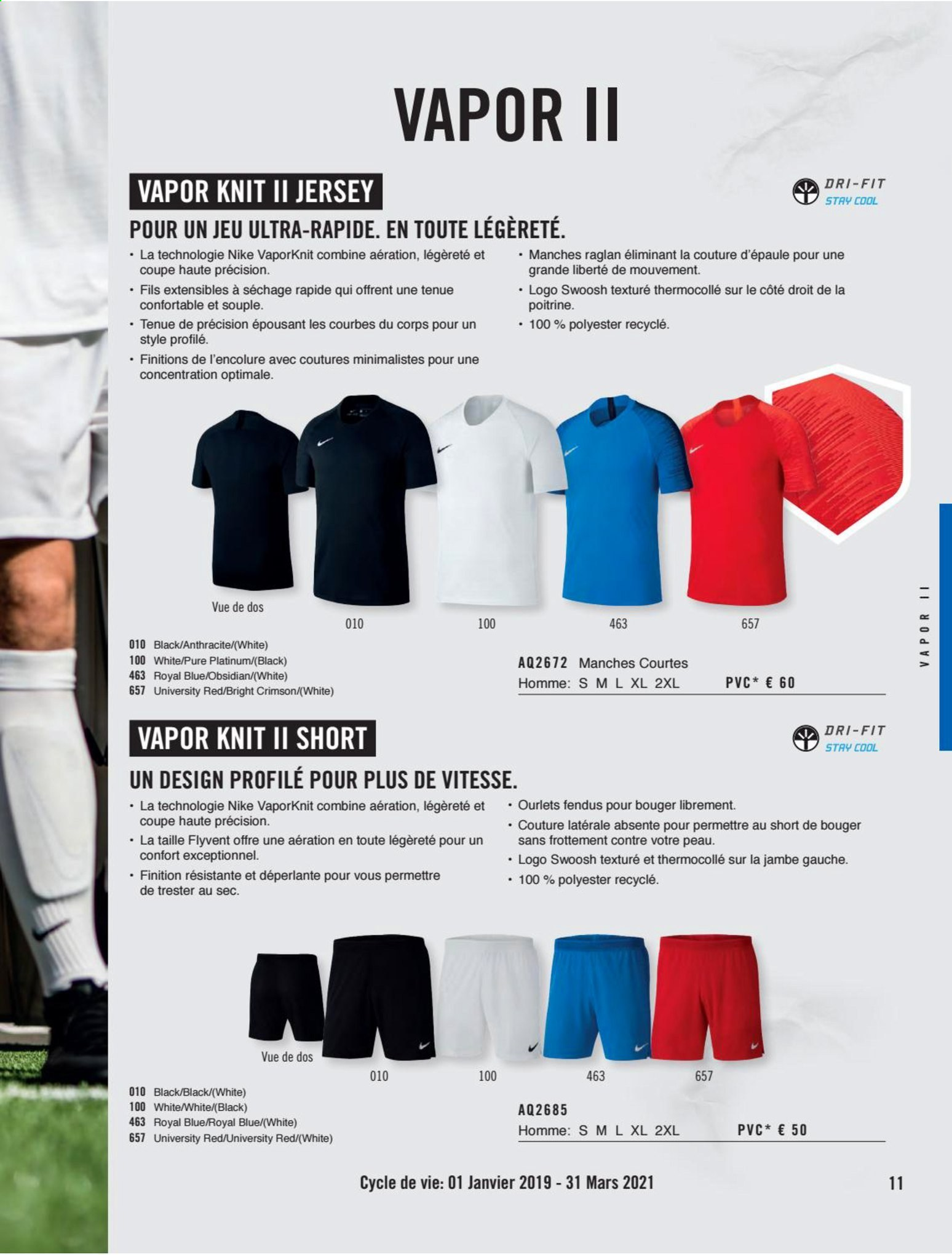 Catalogue Nike. Page 11.