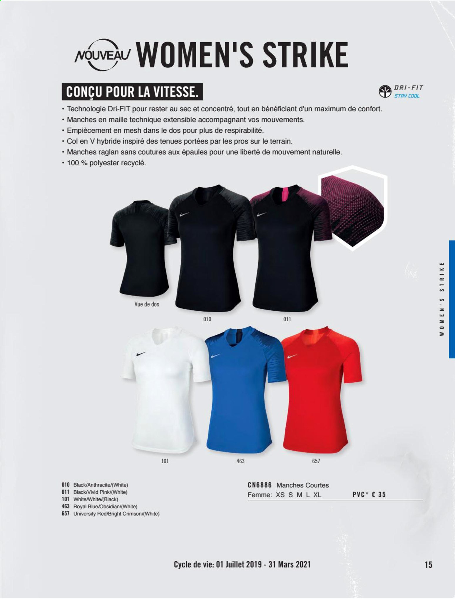 Catalogue Nike. Page 15.