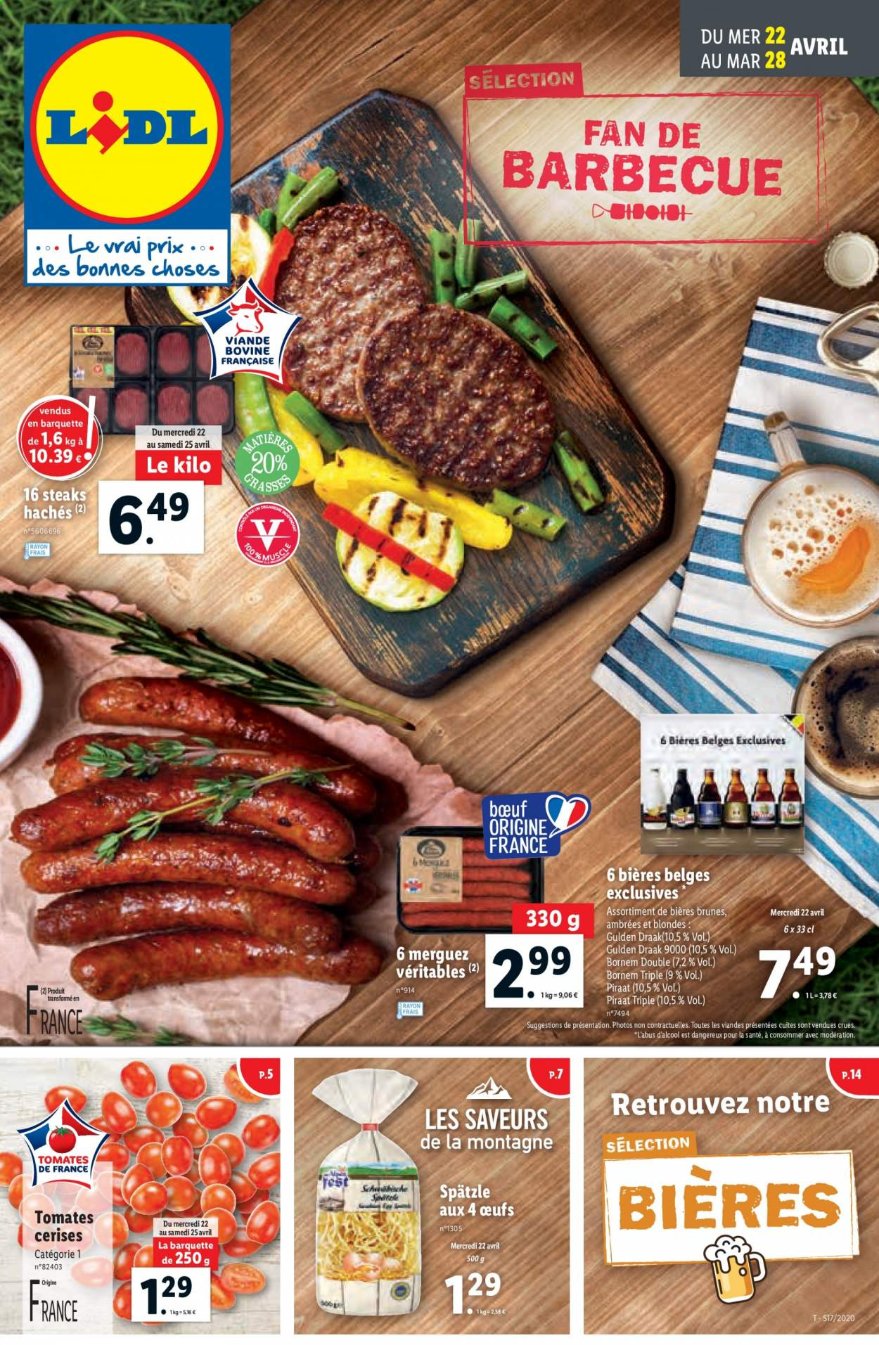 Catalogue Lidl - 22.04.2020 - 28.04.2020. Page 1.