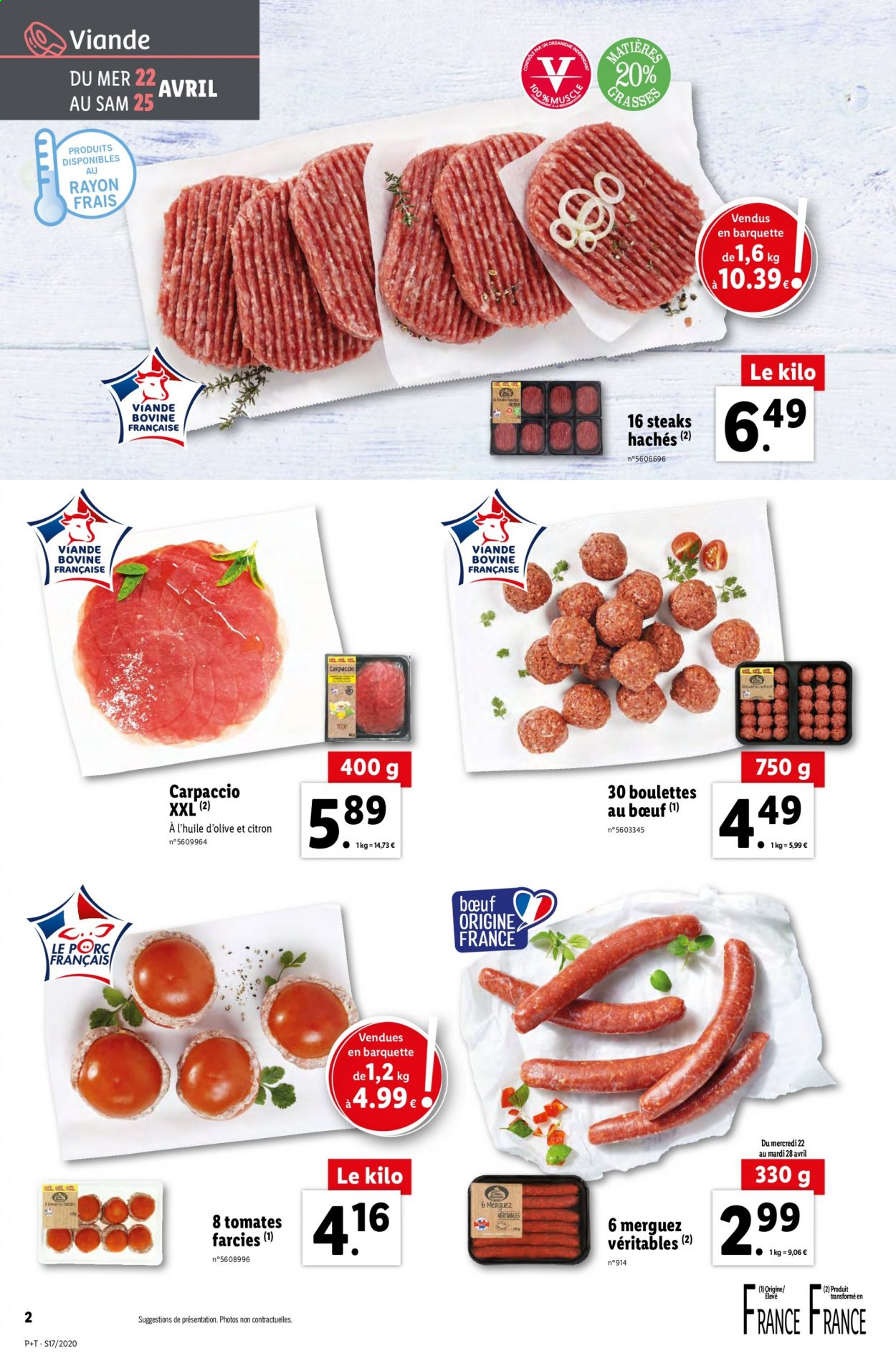 Catalogue Lidl - 22.04.2020 - 28.04.2020. Page 2.