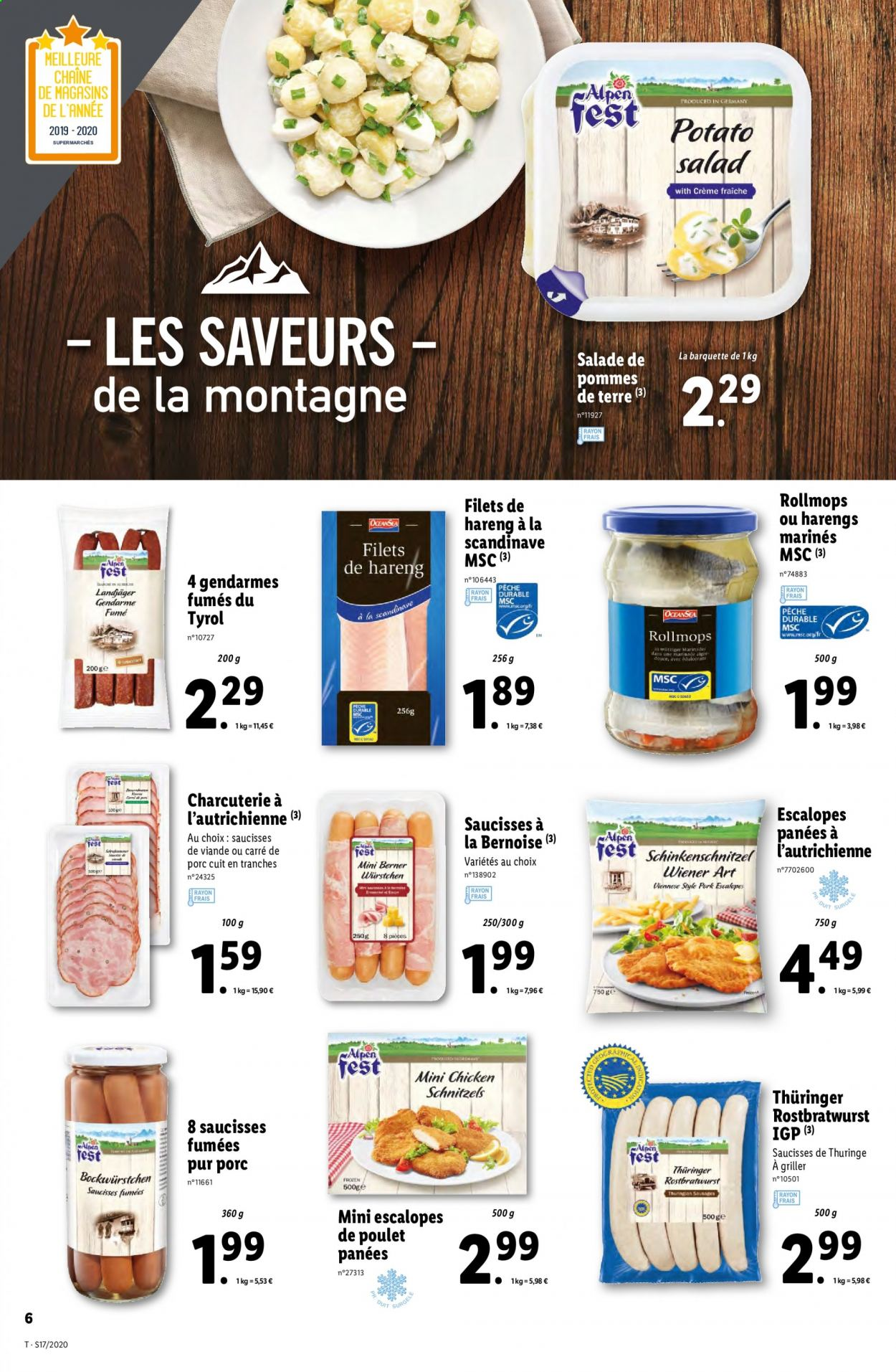 Catalogue Lidl - 22.04.2020 - 28.04.2020. Page 6.