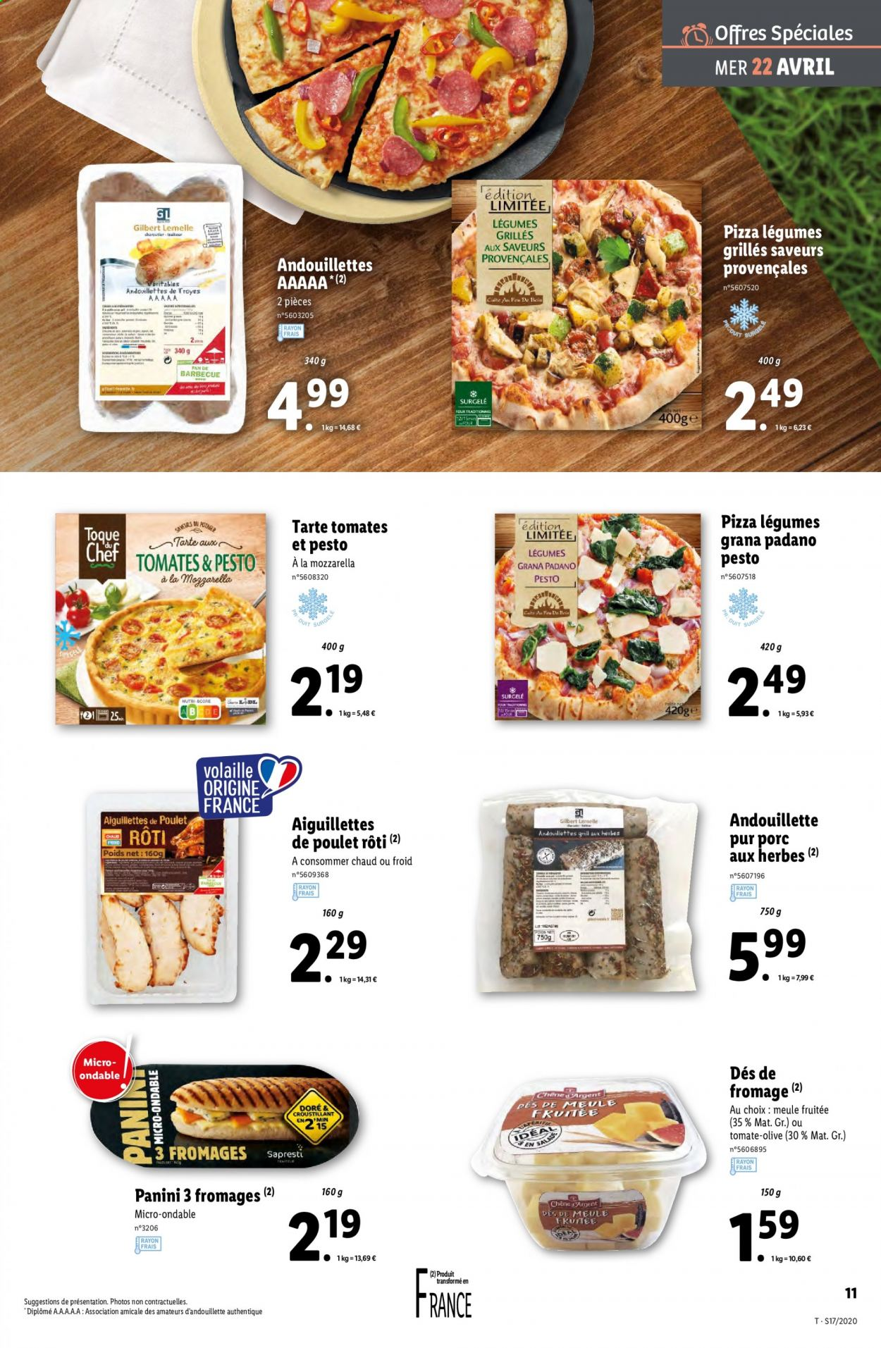 Catalogue Lidl - 22.04.2020 - 28.04.2020. Page 11.