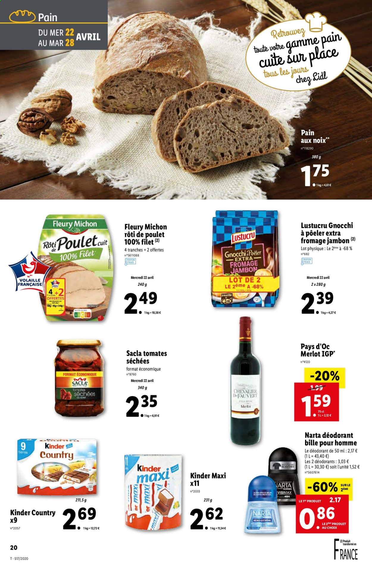 Catalogue Lidl - 22.04.2020 - 28.04.2020. Page 20.