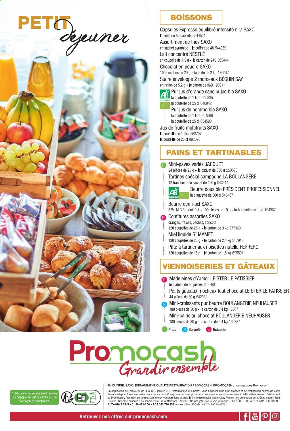 Catalogue Promocash. Page 24.