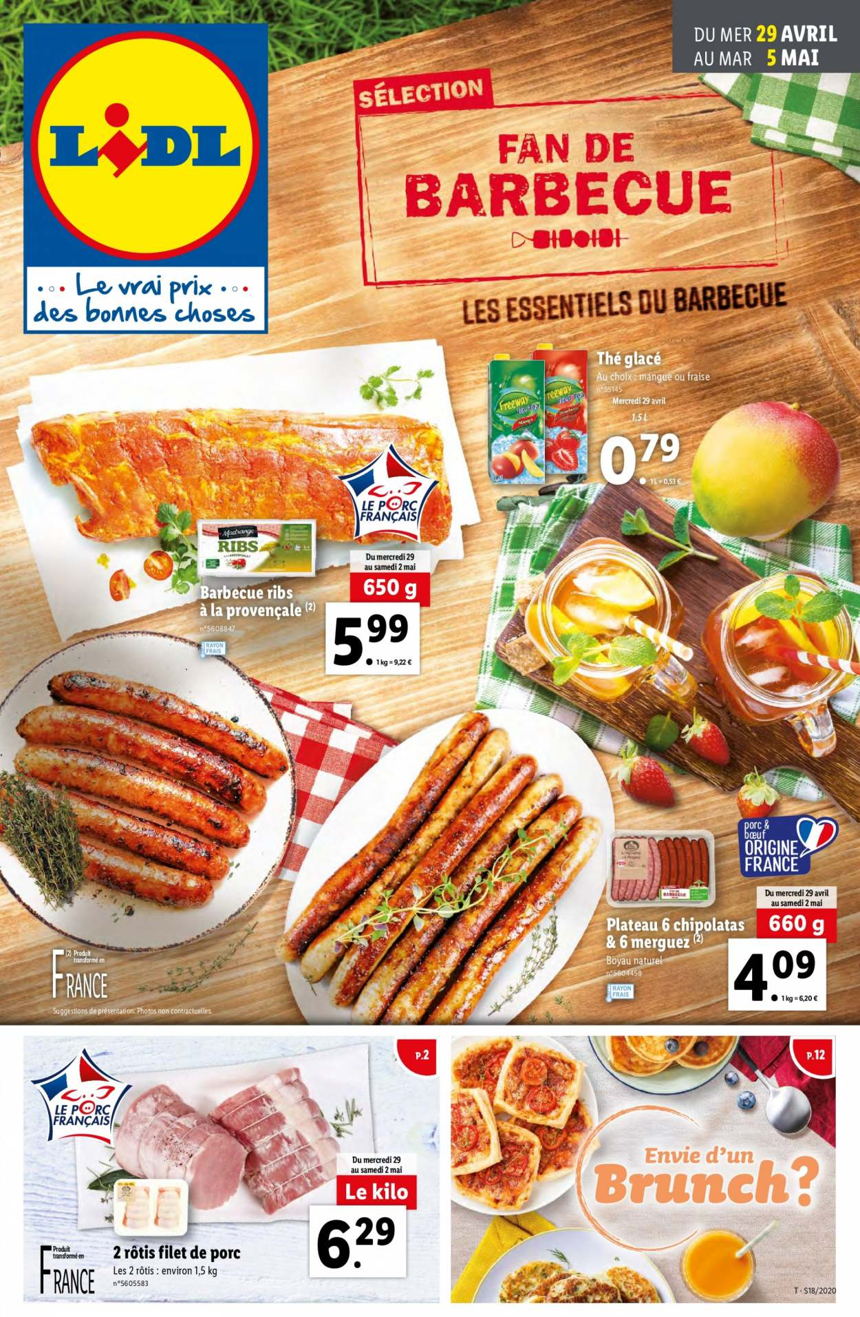 Catalogue Lidl - 29.04.2020 - 05.05.2020. Page 1.