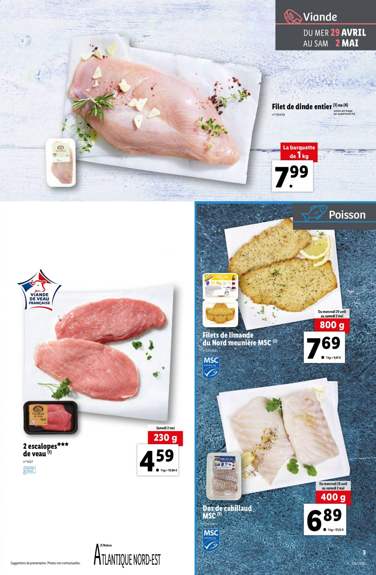 Catalogue Lidl - 29.04.2020 - 05.05.2020. Page 3.