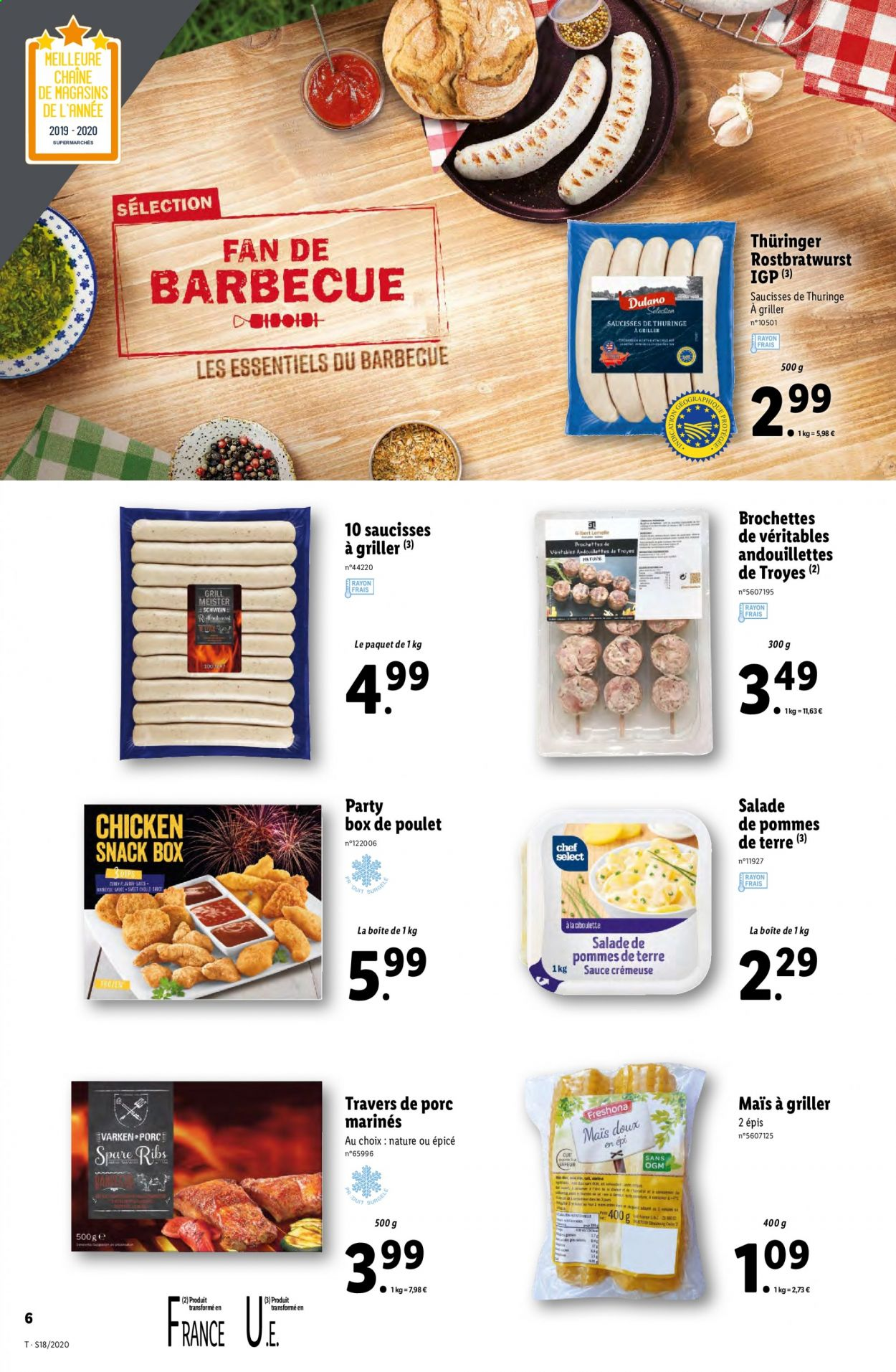 Catalogue Lidl - 29.04.2020 - 05.05.2020. Page 6.