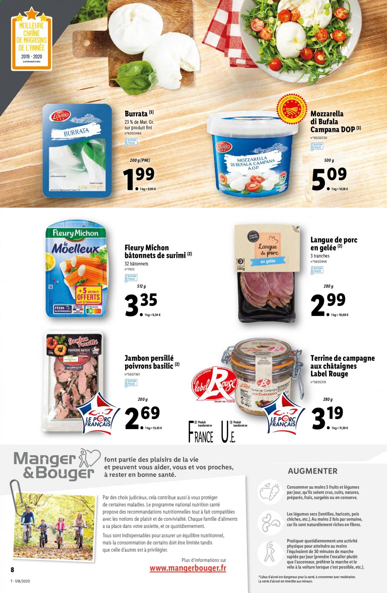 Catalogue Lidl - 29.04.2020 - 05.05.2020. Page 8.