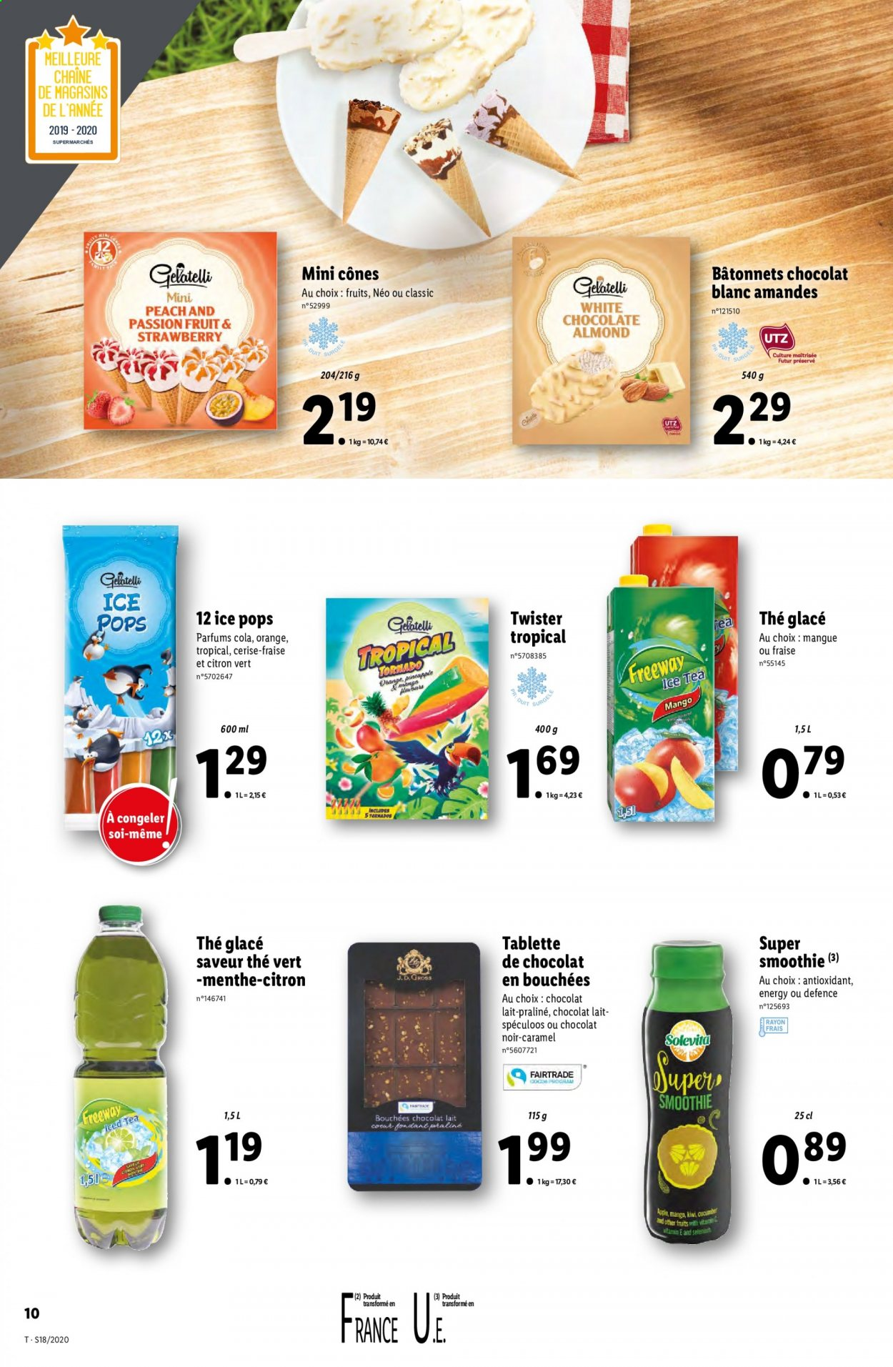 Catalogue Lidl - 29.04.2020 - 05.05.2020. Page 10.